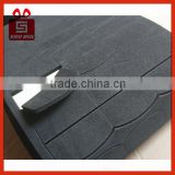 Pre-Cut strong adhesive EVA foam pad Super Strong Double Sided black Foam Tape Pad Mounting Rectangle / Round Adhesive