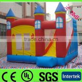 cheap inflatable castle with slide / china inflatable bouncy castle / princess castle tent