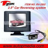 "RV-2502 Car rear view system with 2.5"" digital LCD monitor&night vision camera"