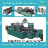 automatic tool and cnc center bar peeling machine