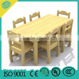 wooden desk and chairs Adjustable Kindergarten School Furniture kindergarten furniture