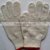 white cotton labor glove