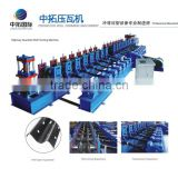 Two waves High accuracy hollow guide rail production line highway guardrail steel production board roll forming machine                                                                         Quality Choice