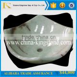 Hot Sale Yellow Onyx Marble Sink