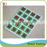 printing custom made adhesive mini stickers for your products with high quality and best price