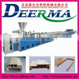 pp/pe/pvc wood plastic composite wpc profile extrusion machine                                                                         Quality Choice