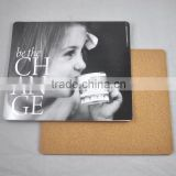 new products for 2015 CMYK printed cork backed placemats/MDF placemats for promotion gift                                                                         Quality Choice