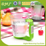Digital Measuring Cup Scale and Plastic Measuring Cup for kitchenwares