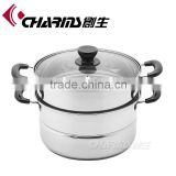 Charms Stainless Steel induction steamer pot