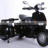 Newest Ride on Car, 12 Volt Battery Powered Kids Ride on Motorcycles with Side Wheels