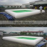 Commercial high quality pvc cheap funny inflatable pool toys adult size inflatable swimming pool
