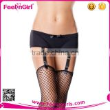 Wholesale Sexy Tube Nylon Black Stocking With Strapes