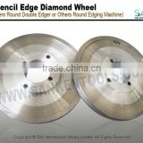 Pencil edge glass polishing wheel with good quality