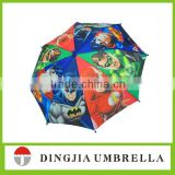 2015 new cartoon printed umbrella for kids, kids umbrella 35cm