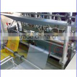 high speed heat cutting non woven bag making machine manual/plastic shopping bag making machine for sale
