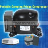 Portable Camping fridge compressor mini refrigerator home battery powered insulin cooler