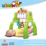 Battery operated toy activity gym Kids Play toy piano Baby Play Gym with sound and hanging toy