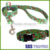 Wholesale dogs application retractable harness eco-friendly polyester dog leash with printing logo