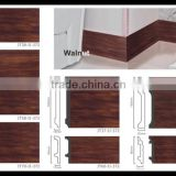 Shanghai Factory PS Foam Board Wall Panel Wooden Color Plastic Skirting Board                                                                         Quality Choice
