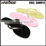 Beach pvc flip flop sandal , fashion casual flip flop rubber slipper
