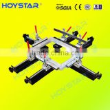 hand operation screen printing stretching machine