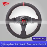 Wholesale China hot sale high performance 330mm golf cart steering wheel for many car brands