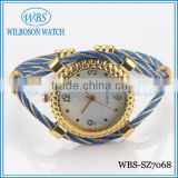 Hot sell colorful lady bangle jewelry watches made in China