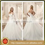 VDN32 Directionally Pleated Bodice Strapless Sweetheart Bridal Formal Gown 2016 Full Length Long Ball Gown Wedding Dress