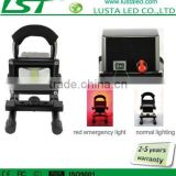 10W Rechargeable Floodlight Epistar Battery Power 24V 12V LED Flood Lights Outdoor IP65 LED Flood Bulbs Emergency