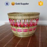 cheap price natural color bamboo fish basket and paper storage basket                                                                         Quality Choice