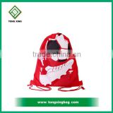 Cheap price Drawstring Gym Sports Bag Polyester drawstring bag Wholesale , felt drawstring bag