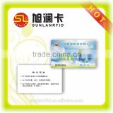 Professional Maker High Quality Custom Printing CR80 Standard Size Plastic Photo ID Card
