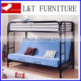 cheap bunk futon beds with sofa below