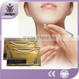 Skin care products Gold collagen anti-aging neck mask