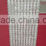 new design square silver wedding crystal pillars for wedding stage decoration
