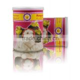 Vacuum Freeze Dried Mangosteen from Thailand . 100% natural dried mangosteen fruit . No ingredients added .