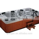 Hot Sell double whirlpool bathtubs,adult portable bathtub,body massage spa