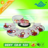 2016 New product DENY wholesale blank cd in bulk
