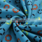 Cheap China bulk wholesale! 100% polyester various colors and shape for home textile print polar fleece fabric