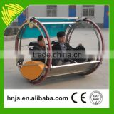 Playground funfair rides 360 degree rotating car outdoor leswing happy car games for sale