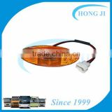 yutong bus lights 5-0520 led yellow color side marker lamp/light for buses