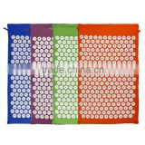 shakti acupressure mat/bed of nails acupressure mat/shakti acupuncture mat set