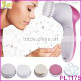 New Fashion 5in1 Multifunction Electric Face Facial Cleansing Brush Spa Skin Care Massage