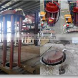 New furnace Ladle dryer for induction furnace, max temperature is 800 degree