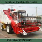Factory Price 4L-1.0 Soyabean Combine Harvester Wheel Self-propelled dry bean harvester