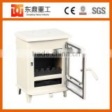 2016 Enamel Firpelace type freestanding cast iron enamel wood burning stove with glass door