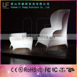 Wholesale Modern Decoration Colorful Nightclub Plastic LED Furniture /llluminated Plastic Outdoor Furniture For Parities