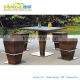 Buy modern bar setting direct China rattan outdoor furniture design