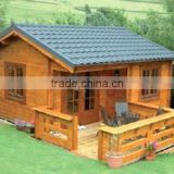 House Hotel Shop Office Use and glulam beam Material Wooden House