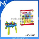 Newest sand beach set toys for kid Gift box ABS table with beach toy